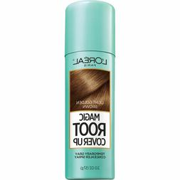 L'Oreal Paris Magic Root Cover Up Gray Concealer Spray, Ligh
