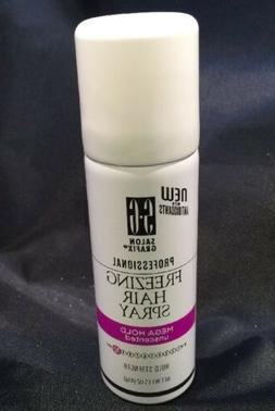 Salon Grafix Mega Hold Unscented Freezing Hair Spray 1.5oz E