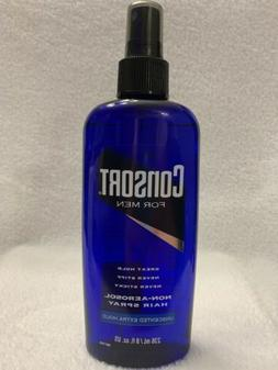 Consort For Men Non-Aerosol Hair Spray Unscented Extra Hold