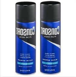 Consort for Men Unscented Extra Hold Hair Spray 2 Bottle Pac