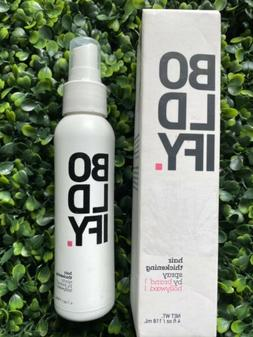 New BOLDIFY Thickening Spray Thicker Hair Care In 60 Seconds