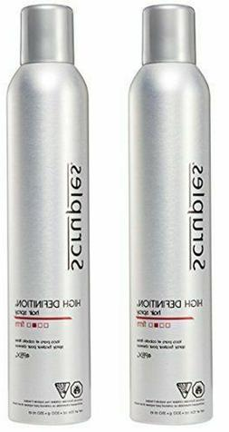 NEW Scruples High Definition Hair Spray 10.6oz Pack of 2 FRE