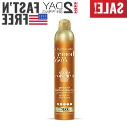 ogx extra strength honey hold mega hairspray
