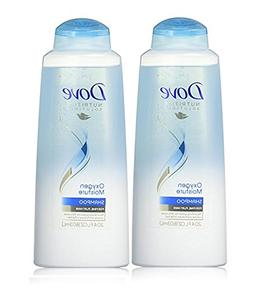 Dove Shampoo Oxygen Moisture, 20.4 Ounce