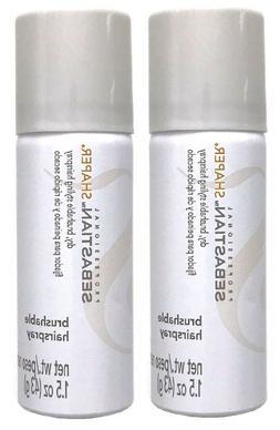 Pack of 2 - Sebastian Shaper Regular Brushable Hairspray 1.5