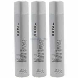 Joico Power Spray Fast-Dry Finishing Spray 9 oz - Pack of 3
