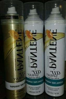 PANTENE PRO-V AIR SPRAY ALCOHOL FREE HAIR SPRAY 7oz ANTI HUM