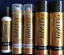Pantene Pro V Hairspray 11 oz x 2 Air Spray 7 oz x 2 Hairspr