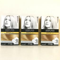 SALE!! 3 Boxes John Frieda Precision Foam Hair Colour 9N LIG