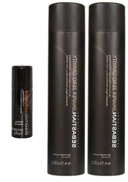 Sebastian Shaper Zero Gravity Hairspray +Fierce1.5oz -3pc se