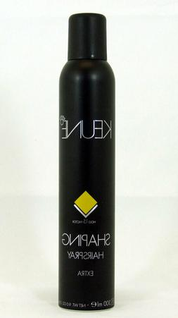 Keune Shaping Hair Spray Extra 9 oz Hold Factor 15 Strong Wo