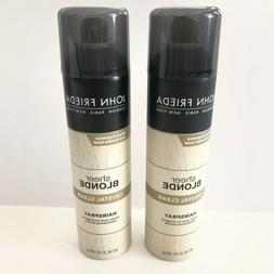 John Frieda Sheer Blonde Crystal Clear Hair Spray 8.5 oz Pac