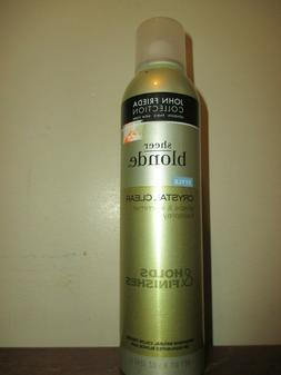 John Frieda Sheer Blonde Crystal Clear Hairspray 8.5 oz Hair