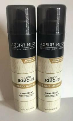 John Frieda Sheer Blonde Crystal Clear Hairspray  8.5 oz. Di