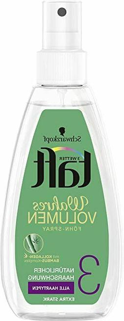 Schwarzkopf Taft Volume Hair Spray -150ml- Level 3 -FREE SHI