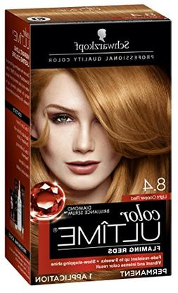 Schwarzkopf Color Ultime Flaming Reds Hair Coloring Kit, 8.4
