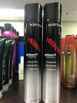 Matrix Vavoom - Freezing Finishing Hair Spray - 11 Oz X 2 Pc