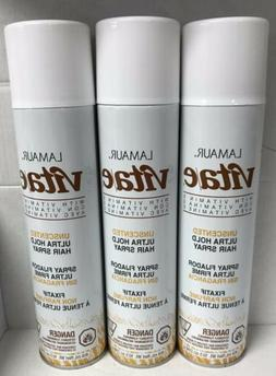 Lamaur Vita-e Ultra Hold Professional Hair Spray Unscented 1
