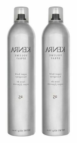 Kenra Volume Spray Hair Spray #25, 55% VOC, 16-Ounce 2-Pack