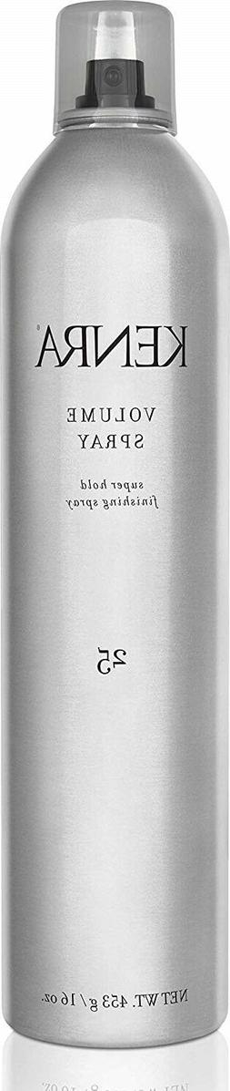 Kenra Volume Spray Hair Spray #25, 55% VOC, 16-Ounce 1-Pack