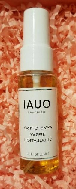 OUAI Wave Hair Spray 1 Oz 30 ml Travel Mini Size NEW