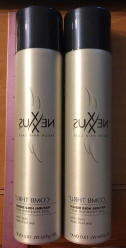 X2 Nexxus Comb Thru Touchable Hold Finishing Mist Hairspray